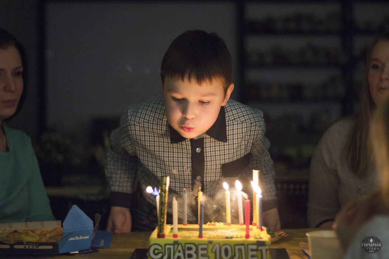 детский день рождения в Москве