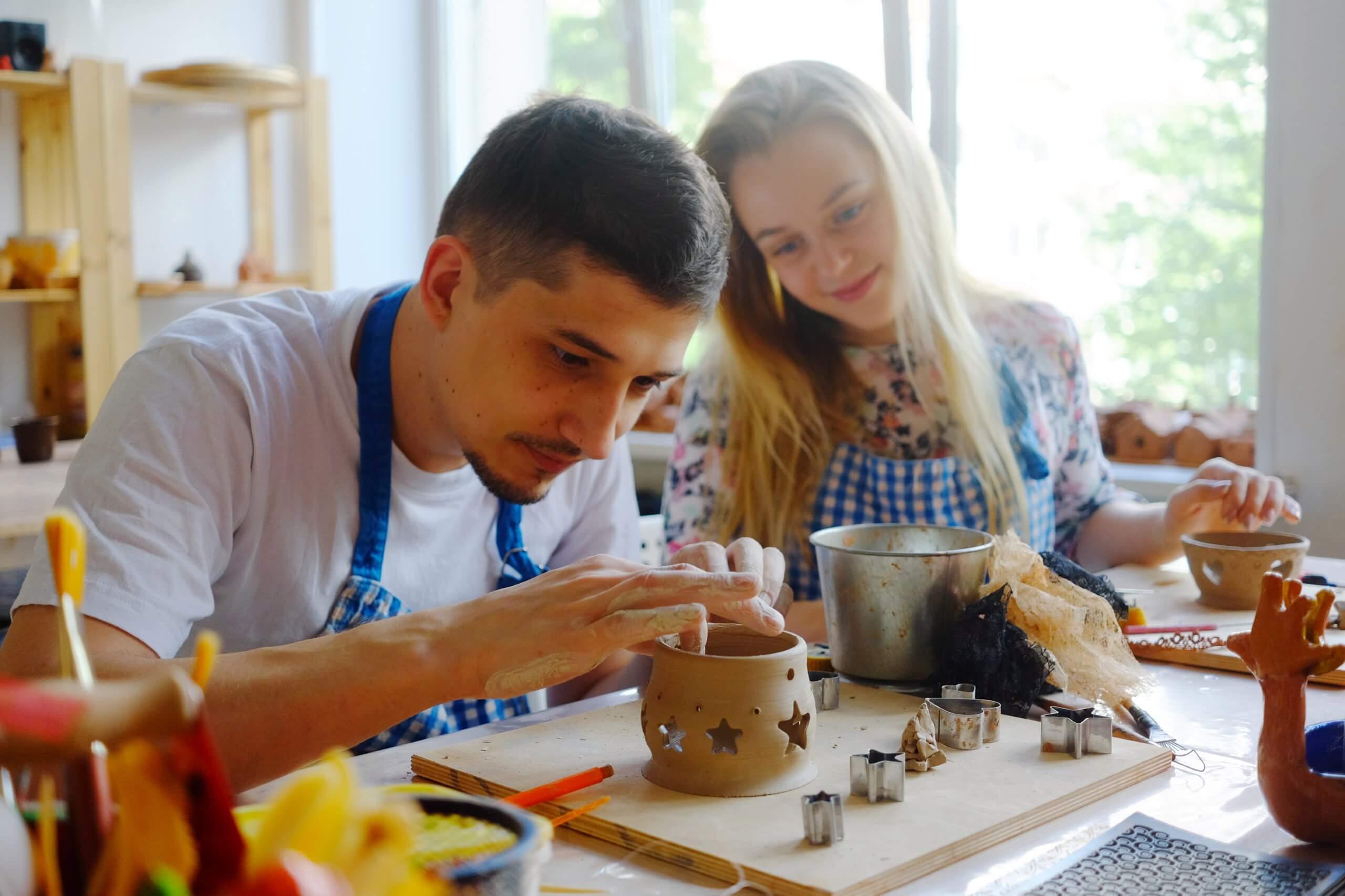 гончарный мастер-класс в Москве